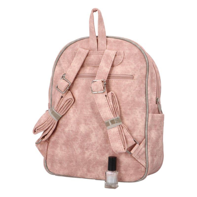 Stylový batůžek Endy, růžový