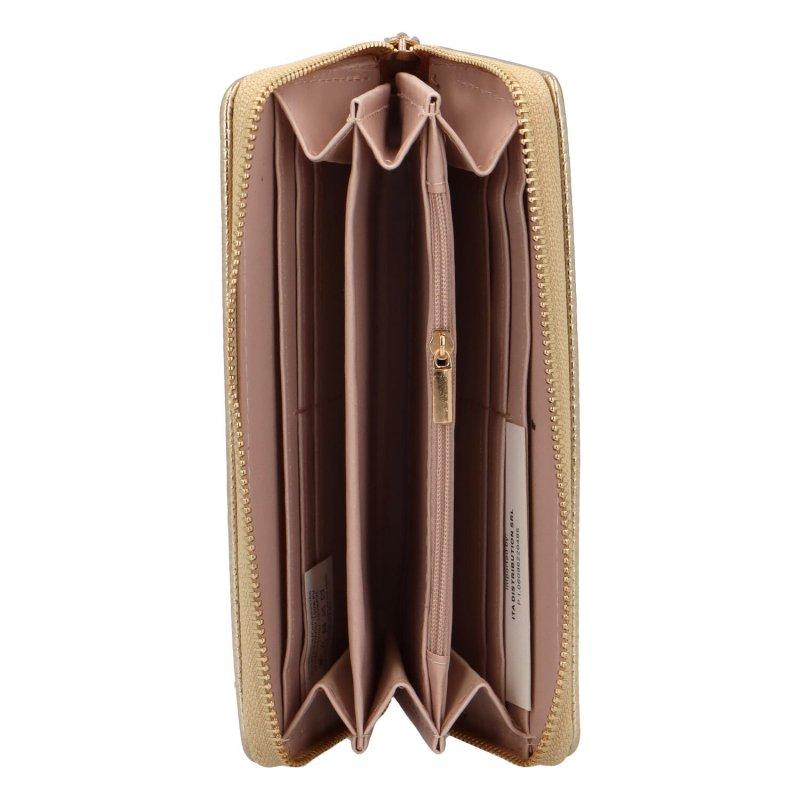Luxusní dámská peněženka Patty, zlatá