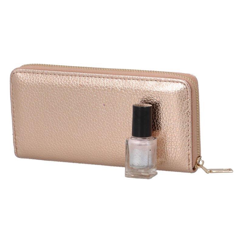 Luxusní dámská peněženka Patty, champaigne