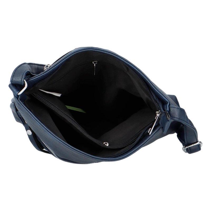 Minimalistická crossbody kabelka Dreamy, tmavě modrá