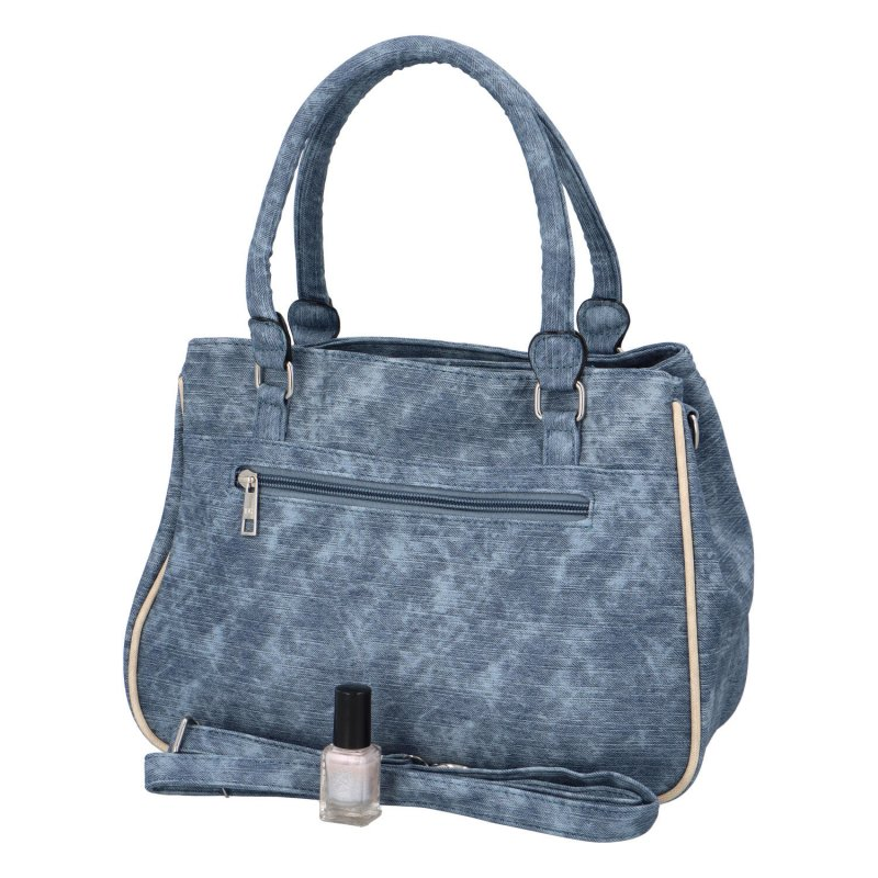 Prostorná dámská kabelka Dolores, modrá