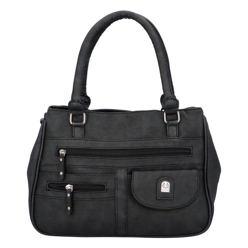 Prostorná dámská kabelka Dolores, černá