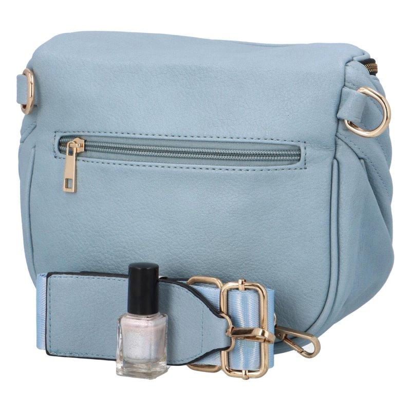 Stylová dámská crossbody kabelka Lota, světle modrá