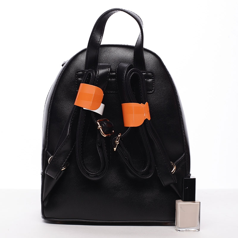 Elegantní batůžek Cynthia, černý