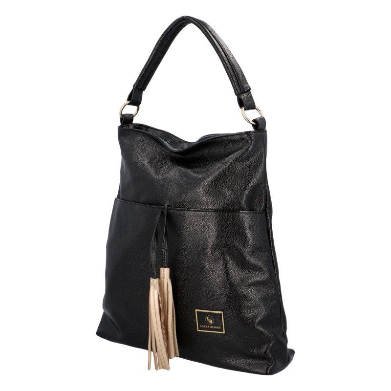 Módní kabelka Anet, černá