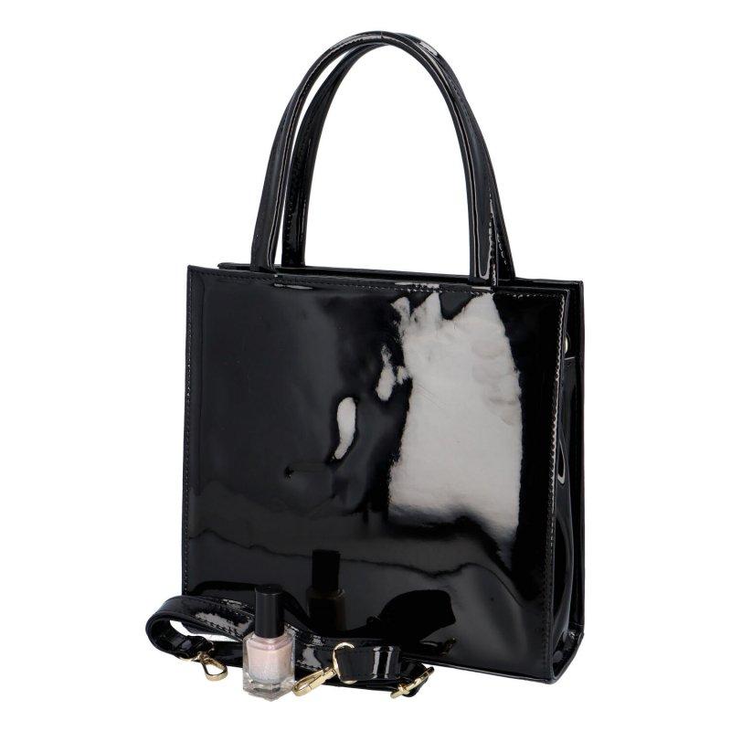 Trendy dámská kabelka Fata, černá