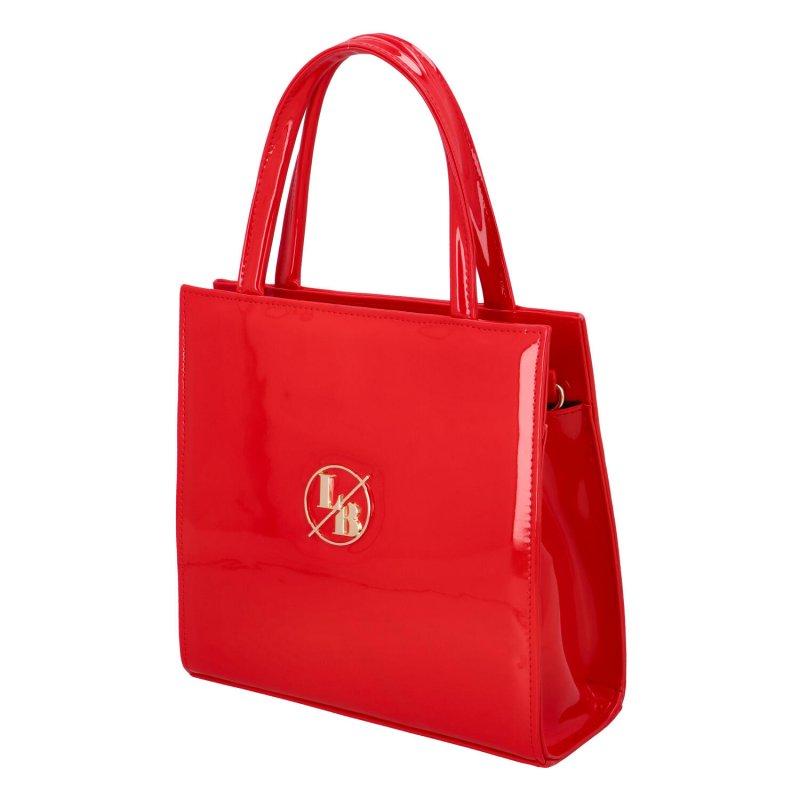 Luxusní dámská kabelka do ruky Rachel, červená
