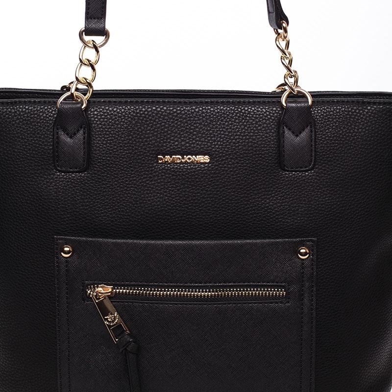 Stylová kabelka přes rameno Layla, černá
