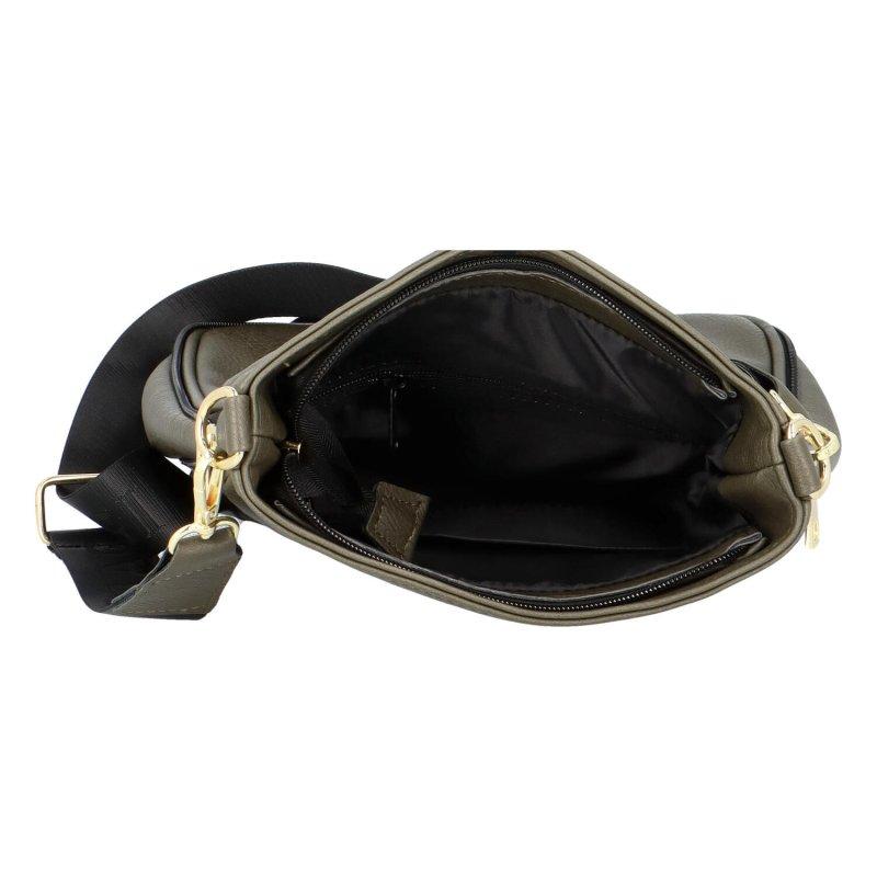 Stylová crossbody kabelka Arlo, zelená