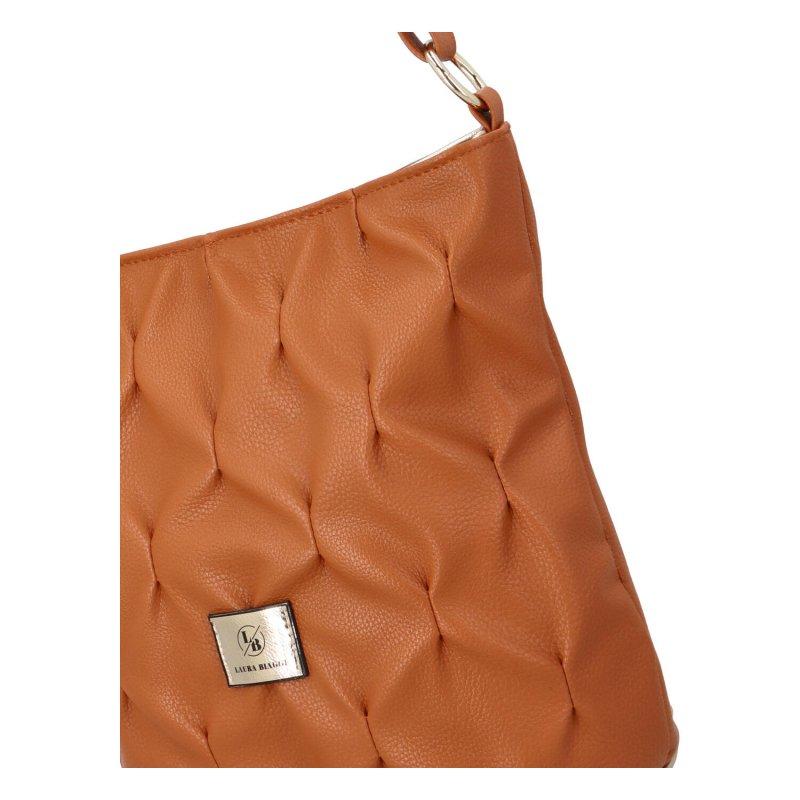Módní dámská kabelka Vine, hnědá