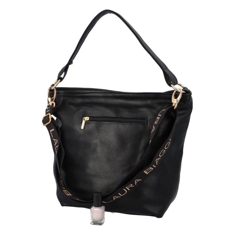 Trendy dámská kabelka Elon, černá