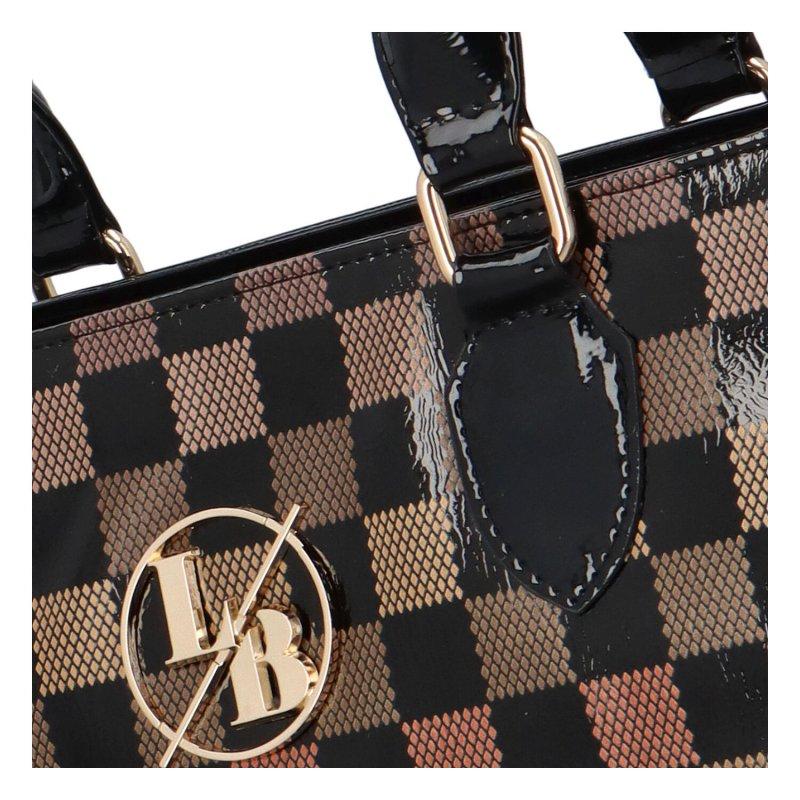Módní dámská kabelka Auria, černá