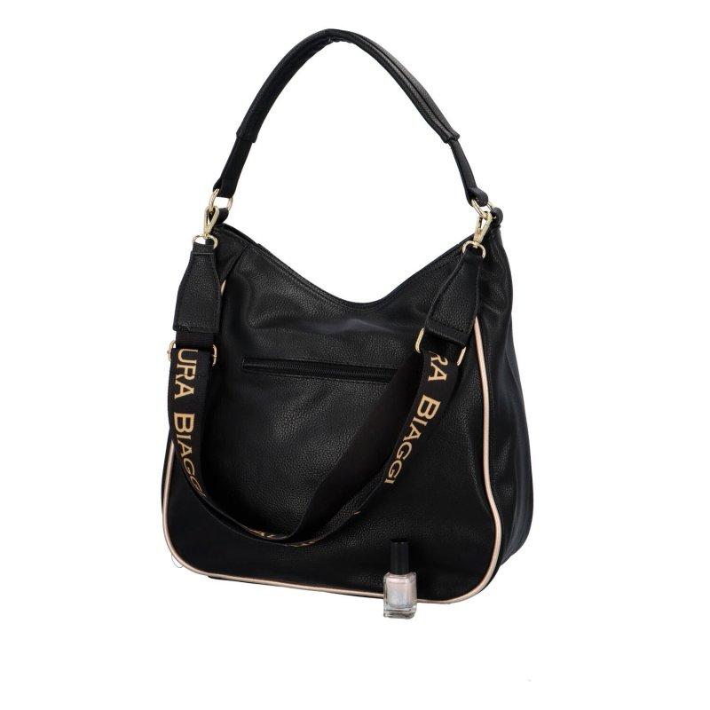 Stylová dámská kabelka Alfie, černá