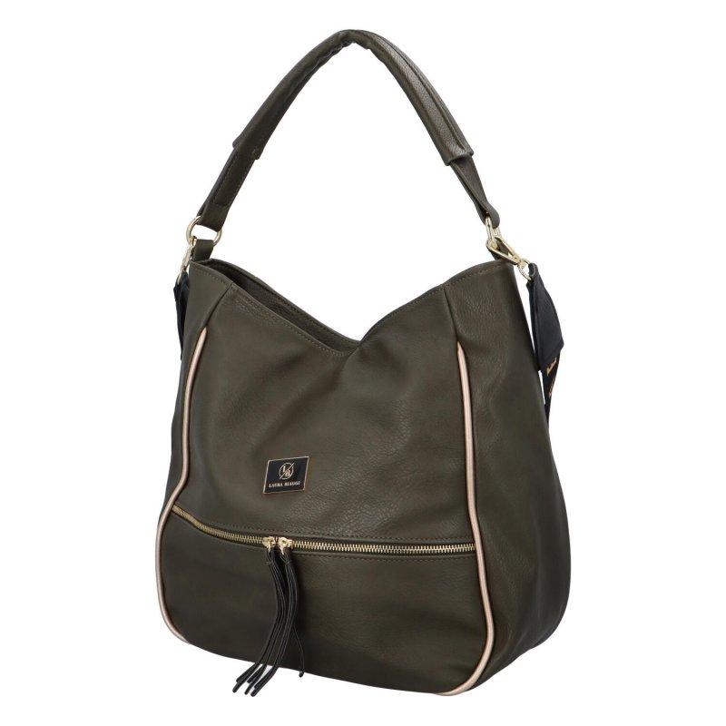 Stylová dámská kabelka Alfie, zelená