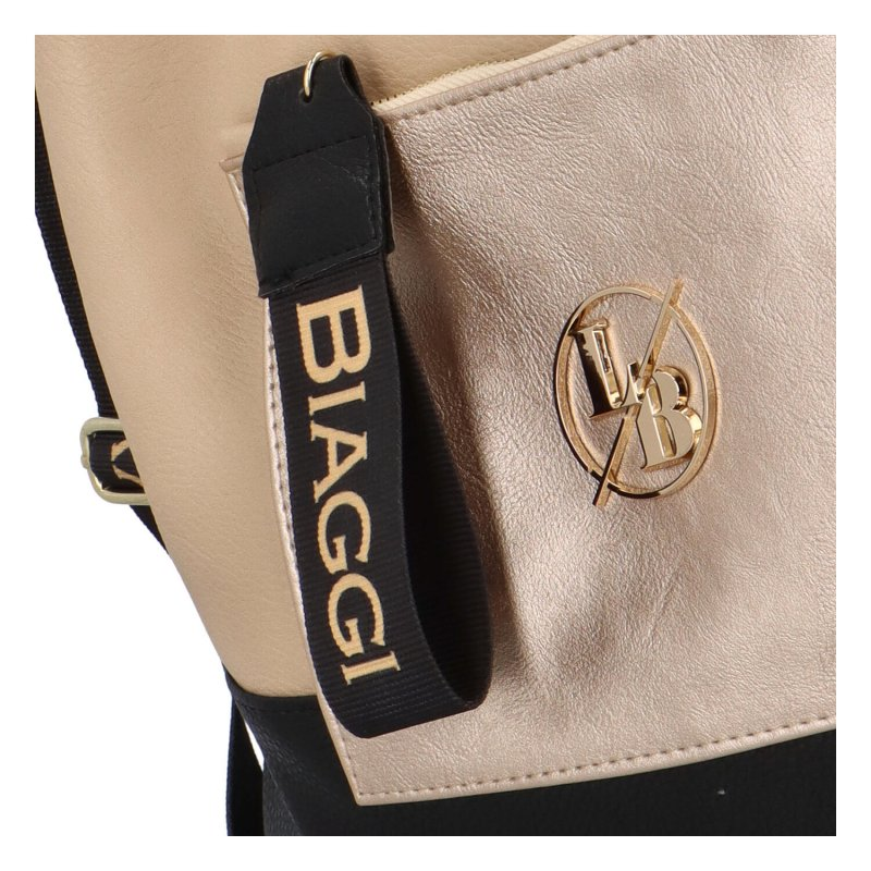 Módní a praktický kabelko-batoh Simi, béžový