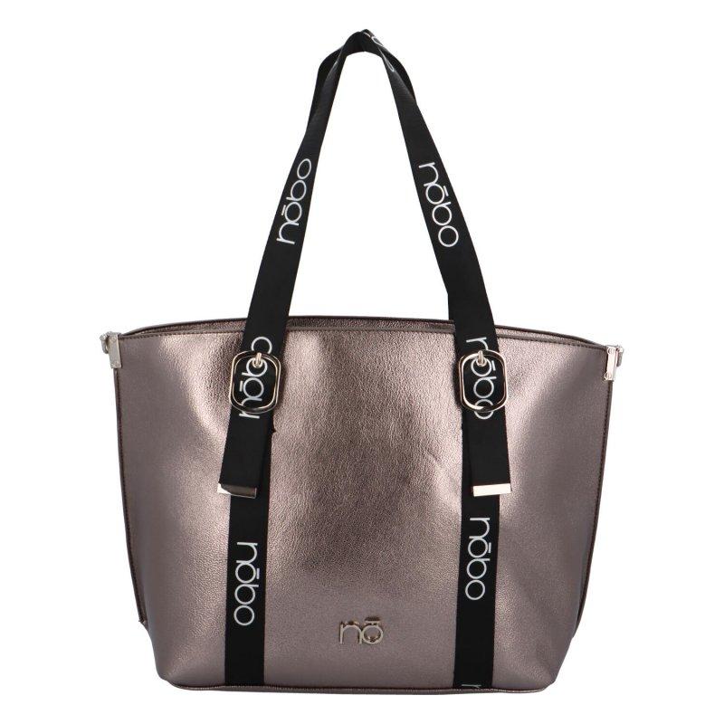Stylová dámská kabelka Serena, stříbrná