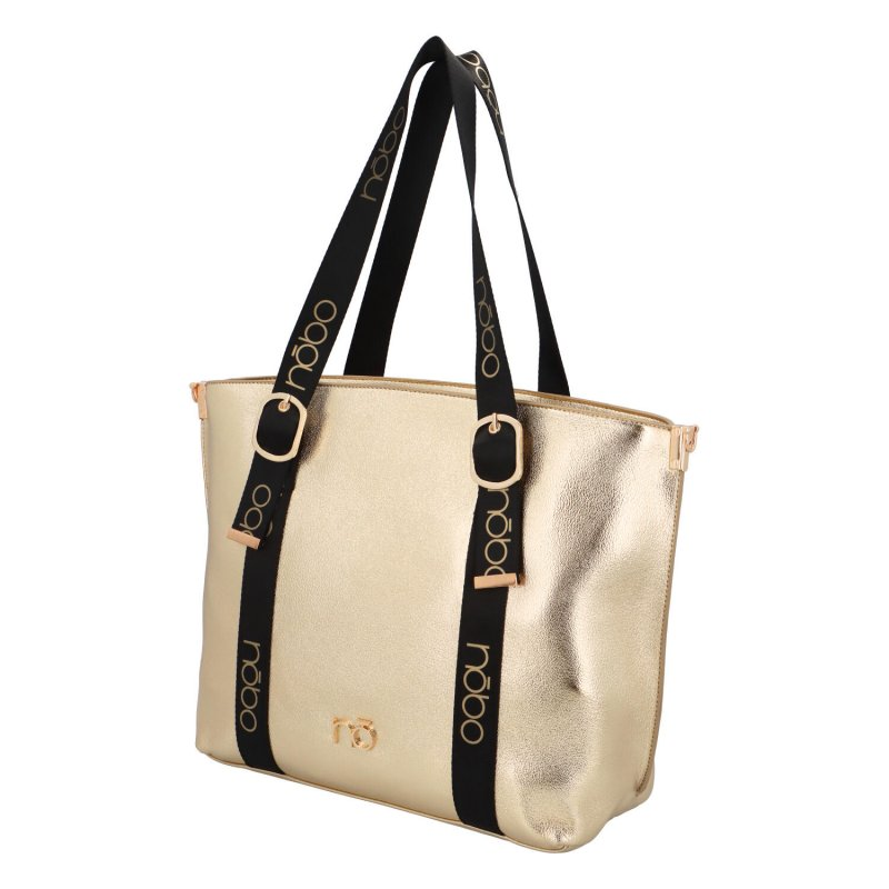 Stylová dámská kabelka Serena, zlatá