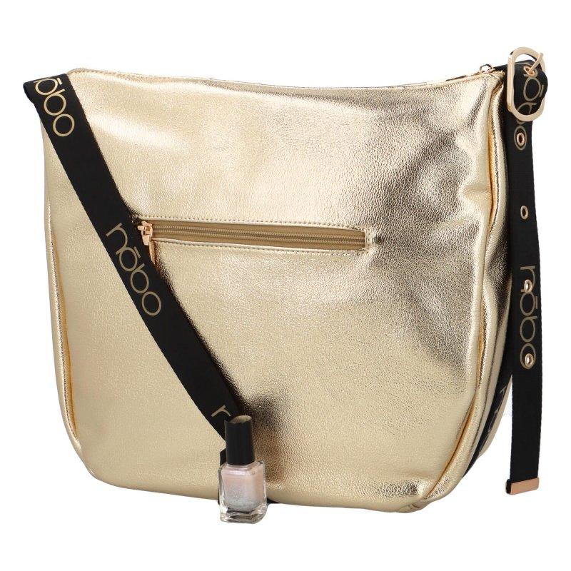 Módní crossbody kabelka Otilia, zlatá