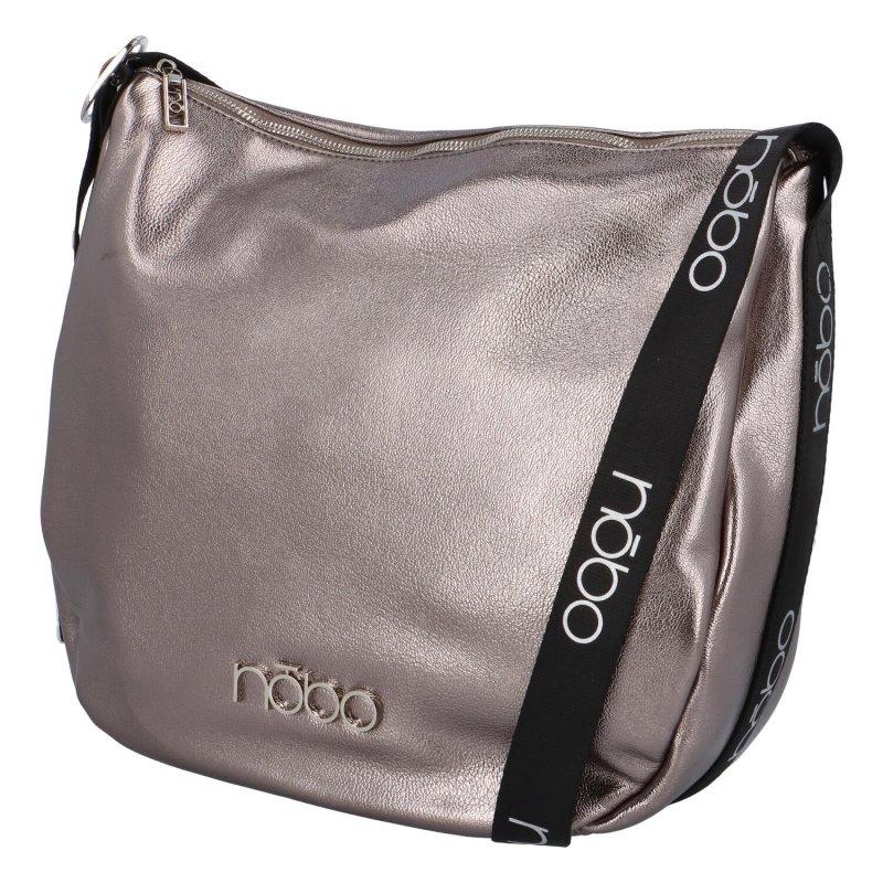 Módní crossbody kabelka Otilia, stříbrná