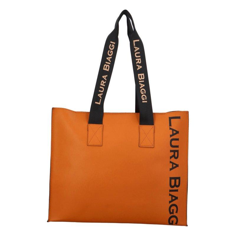 Stylový dámský shopper Laura B., hnědý