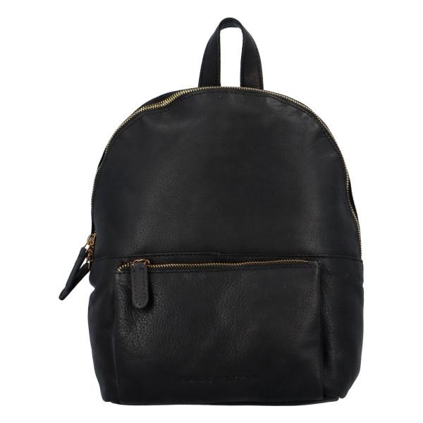 Kožený batoh Sandrino, černý