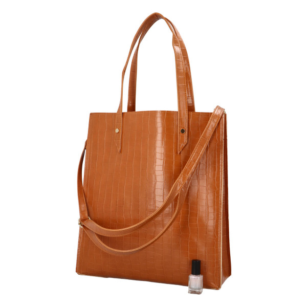 Luxusní dámská kabelka do Julie, hnědá