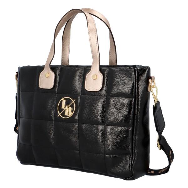 Trendy dámská kabelka Elijah, černá