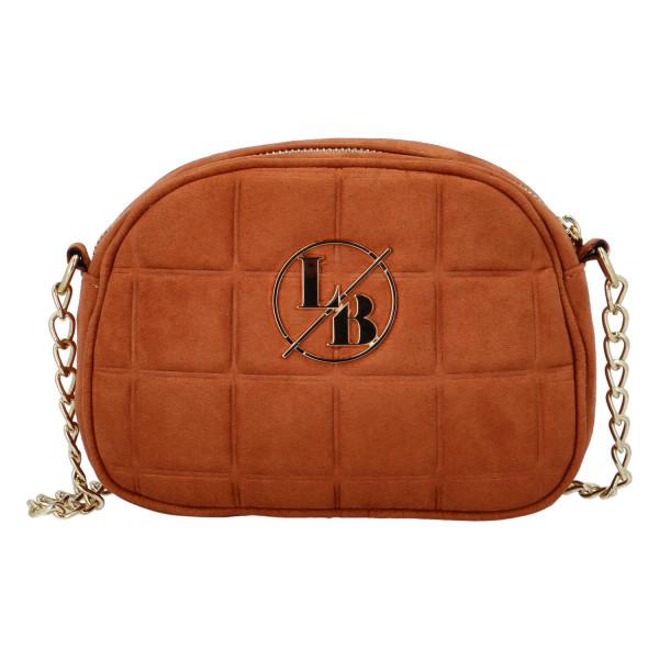 Elegantní dámská kabelka Ava, hnědá