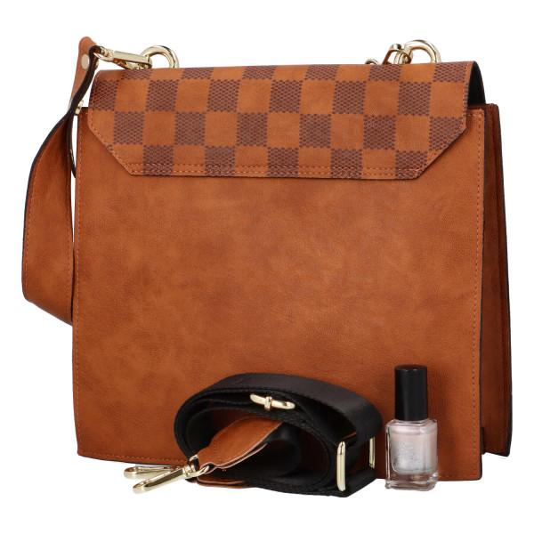 Elegantní dámská kabelka Harper, hnědá