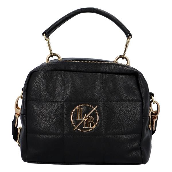 Stylová dámská kabelka do ruky Lara, černá