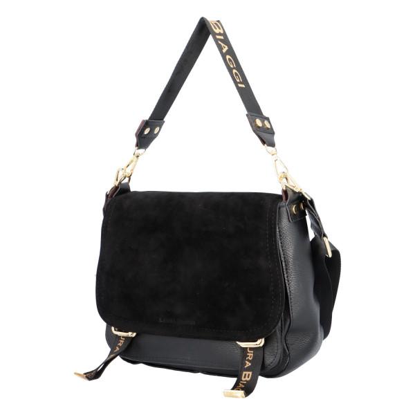 Trendy dámská kabelka Benjamin, černá