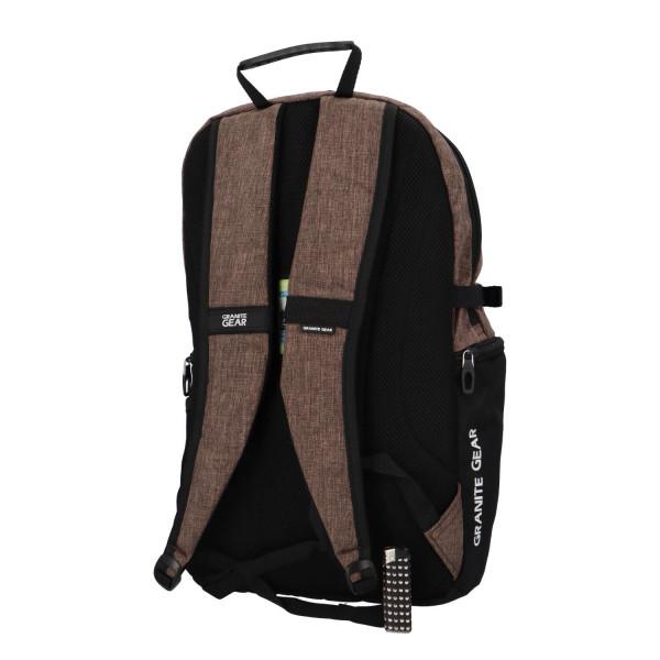 Stylový praktický batoh Alexander, hnědý