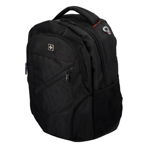 Praktický městský batoh Ilja, černá