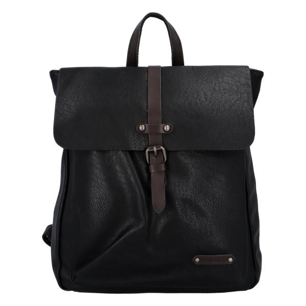 Trendy elegantní unisex batoh Matias, černá