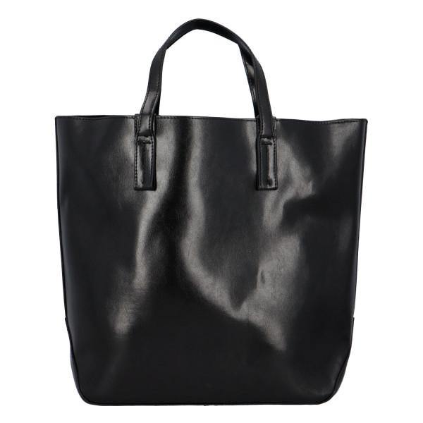 Módní dámská kabelka do ruky i přes rameno Nora, černá