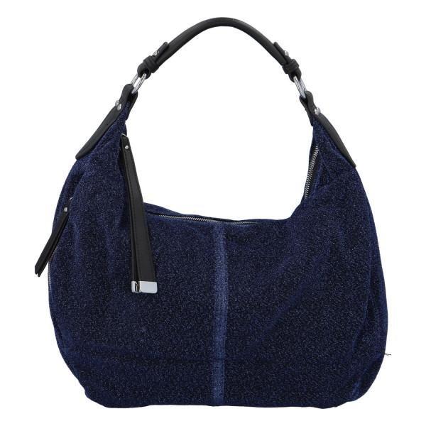 Stylová dámská kabelka Party Riley, tmavě modrá