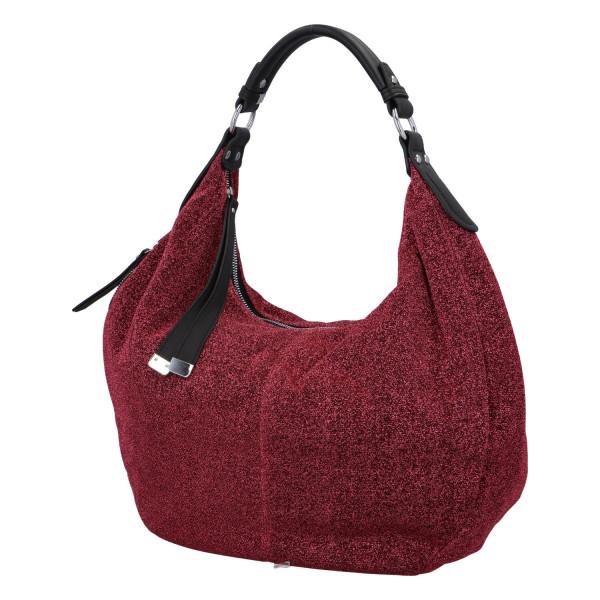 Stylová dámská kabelka Party Riley, červená