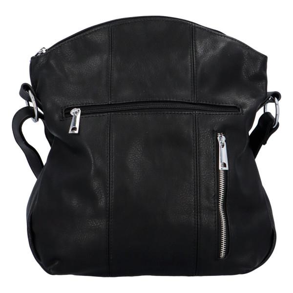 Praktická dámská kabelka Danica přes rameno, černá