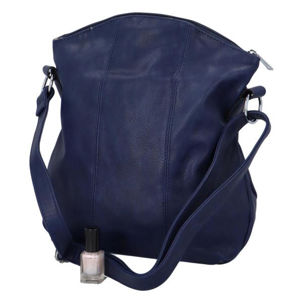 Praktická dámská kabelka Danica přes rameno, modrá