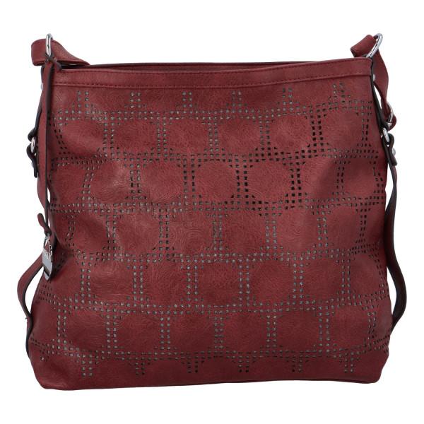 Dámská kabelka přes rameno Elisa, červená