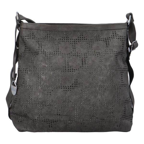 Dámská kabelka přes rameno Elisa, šedá