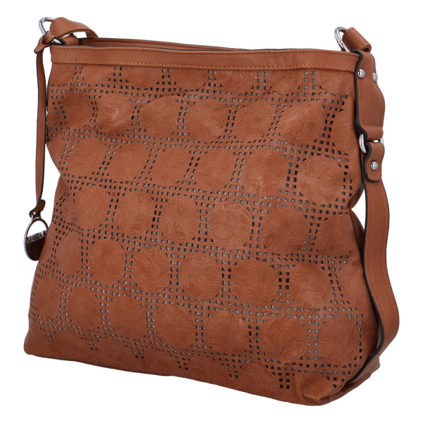Dámská kabelka přes rameno Elisa, hnědá