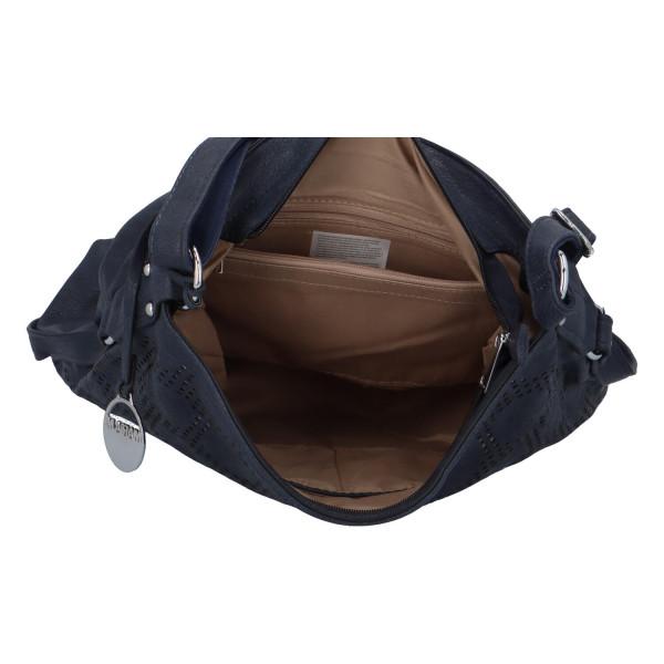 Dámská kabelka přes rameno Elisa, modrá