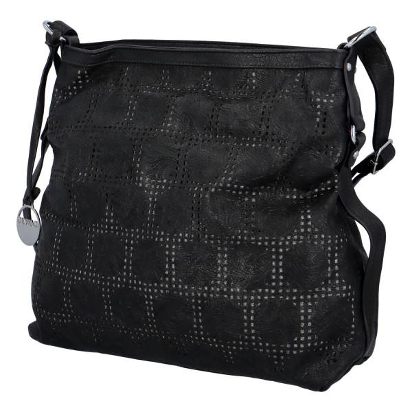 Dámská kabelka přes rameno Elisa, černá