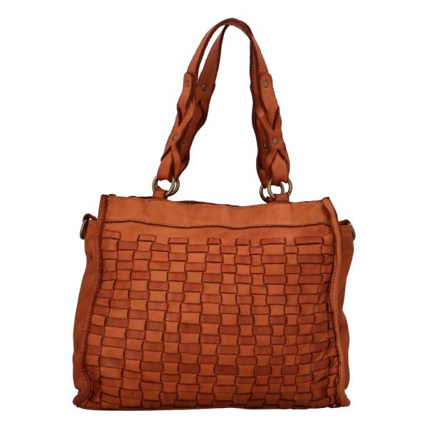 Luxusní kožená kabelka Oleg