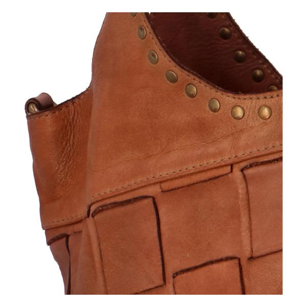 Luxusní kožená kabelka Darina