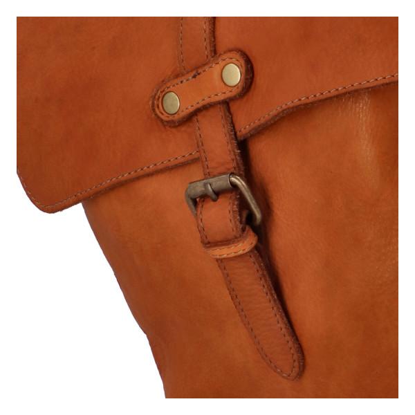 Luxusní kožený batůžek Arnošt