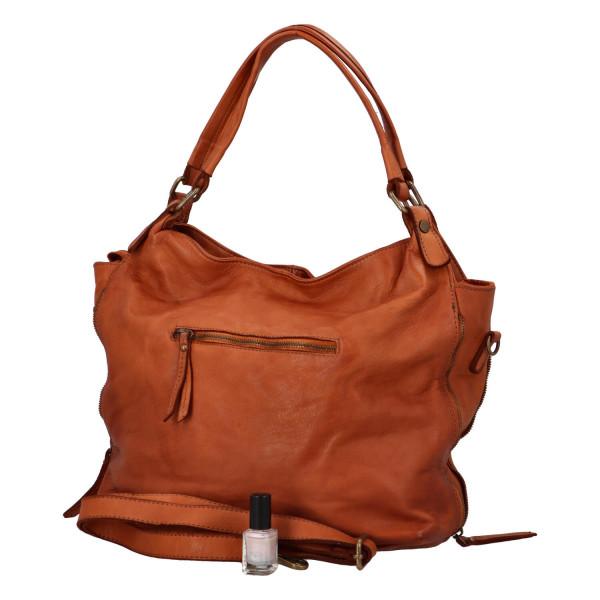 Luxusní kožená kabelka Olivie