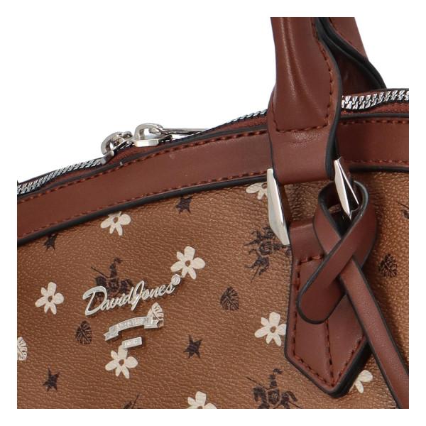 Módní kabelka do ruky i přes rameno Selena, sv. hnědá