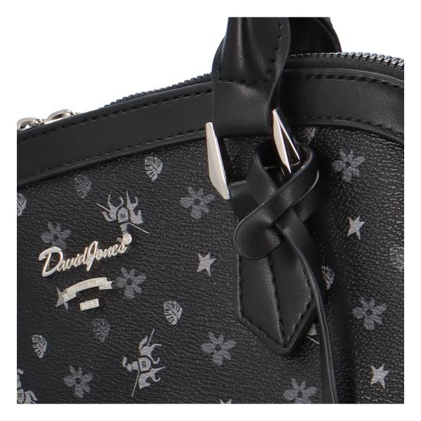 Stylová kufříková kabelka Saskie, černá